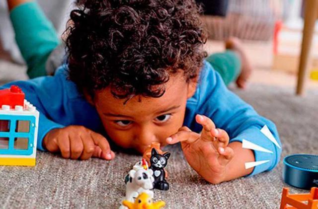 Alexa becomes a playtime storyteller for Lego Duplo blocks