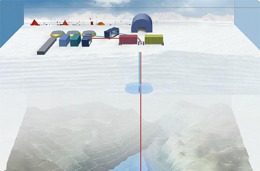 Researchers to bore through 3km of Antarctic ice, seek organisms isolated for 100K years