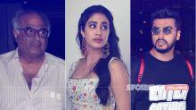 Janhvi Kapoor Breaks Down As Arjun Bhaiya & Dad, Boney, Hug Her After Dhadak Screening