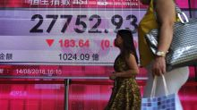 Global markets sink on growth concerns, Turkey jitters