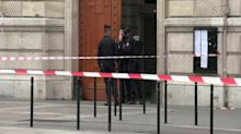 Officer killed in knife attack at Paris police headquarters