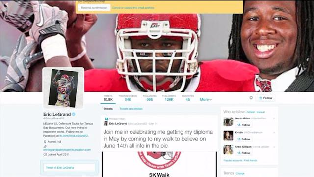 Rutgers Blames `Miscommunication,` Says Paralyzed Player Will Speak At Graduation