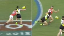 Daniel Rioli delivers brutal revenge on Adam Saad