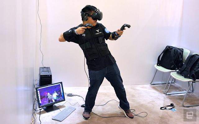 Steam will support VR in very large rooms