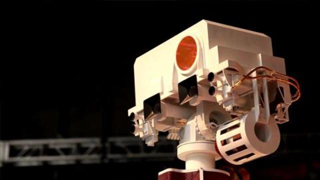 The Super High-Tech Science Gear on the Mars Rover
