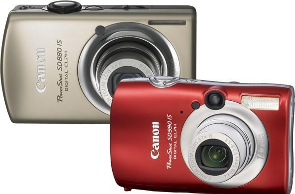 Canon's PowerShot SD990 IS and SD880 IS for 'trendsetting techies' -- right