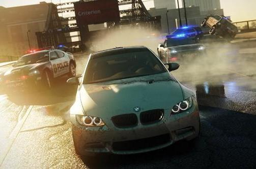 Criterion's next game is Need for Speed: Most Wanted