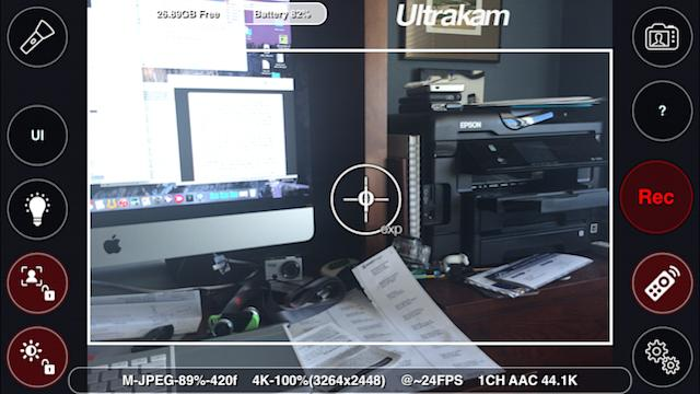 Ultrakam: Transform your iPhone 6 or 6 Plus into a 4K video camera