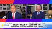 Biden asks reporter if he's a 'junkie' in testy exchange over cognitive decline