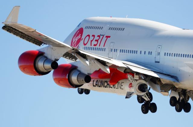 Virgin Orbit will launch small satellites for the UK military