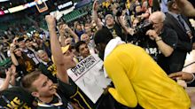Draymond Green sees your trolling, Jazz fans, and raises you