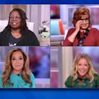 """The View"" hosts mock Trump for being too ""scared"" to debate: ""Wheel him in with a straitjacket"""