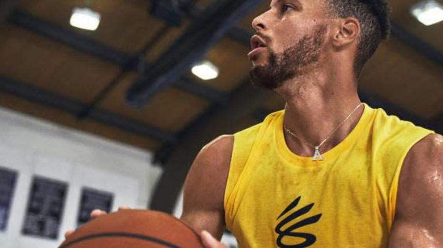 Basket - NBA - Stephen Curry lance sa marque en association avec Under Armour