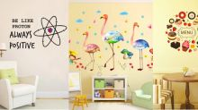 Shop: 12 ideas to decorate plain walls with stickers