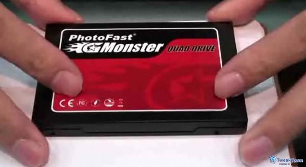 PhotoFast GMonster SSD gets wrestled open, found to contain compact flash cards