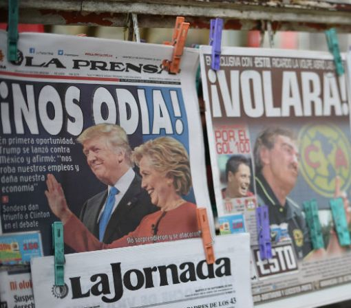 Mexico's Currency Declares Hillary Clinton Last Night's Winner