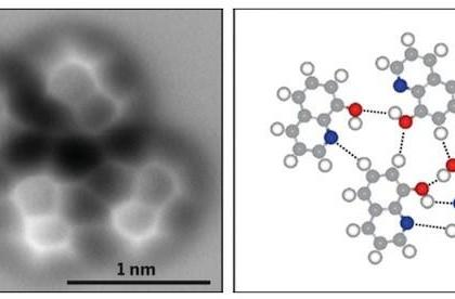 Visualized: a hydrogen bond seen for the first time