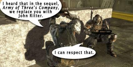 Army of Two lead designer talks sequels: 'This is EA, right?'
