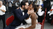 The sneaky detail you missed about Serena Williams' wedding outfit