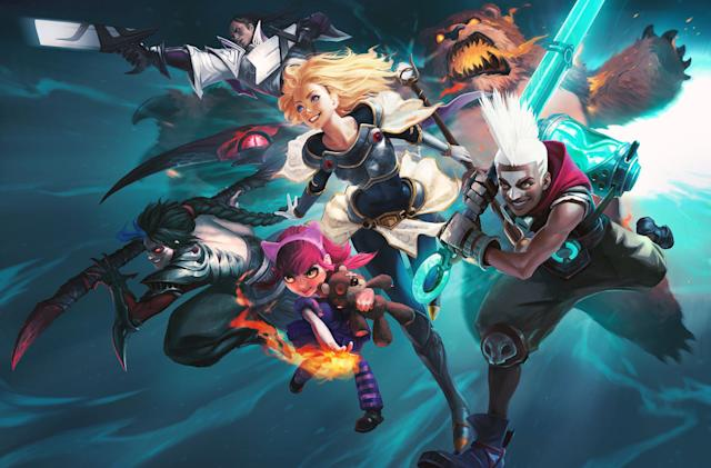 Riot Games is working on a 'League of Legends' MMORPG