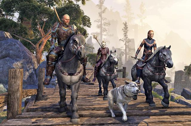 Play 'The Elder Scrolls Online' for free this week