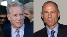 James Woods, Michael Avenatti Exchange Barbs: 'Oh, Look. The Real Diapered, Hot Air Balloon'