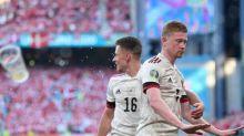 """Emotionale Dänen können auch """"für Christian"""" nicht punkten - Belgien im Achtelfinale"""