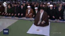Iranian President's Swift Exit From Khamenei-Led Prayers Raises Questions