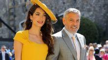 George y Amal Clooney fueron a la boda de Harry y Meghan sin conocerles
