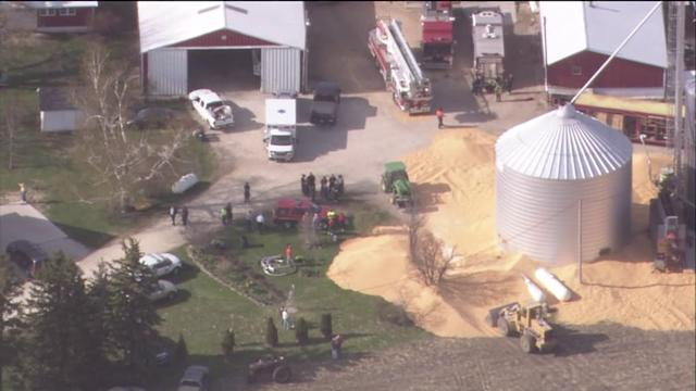 Man`s Body Recovered From Grain Silo After He Became Trapped