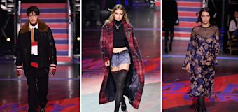A family affair at Tommy Hilfiger's Hadid-filled show