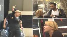 El video de la exGH Tamara Paganini, furiosa con un fotógrafo en plena calle