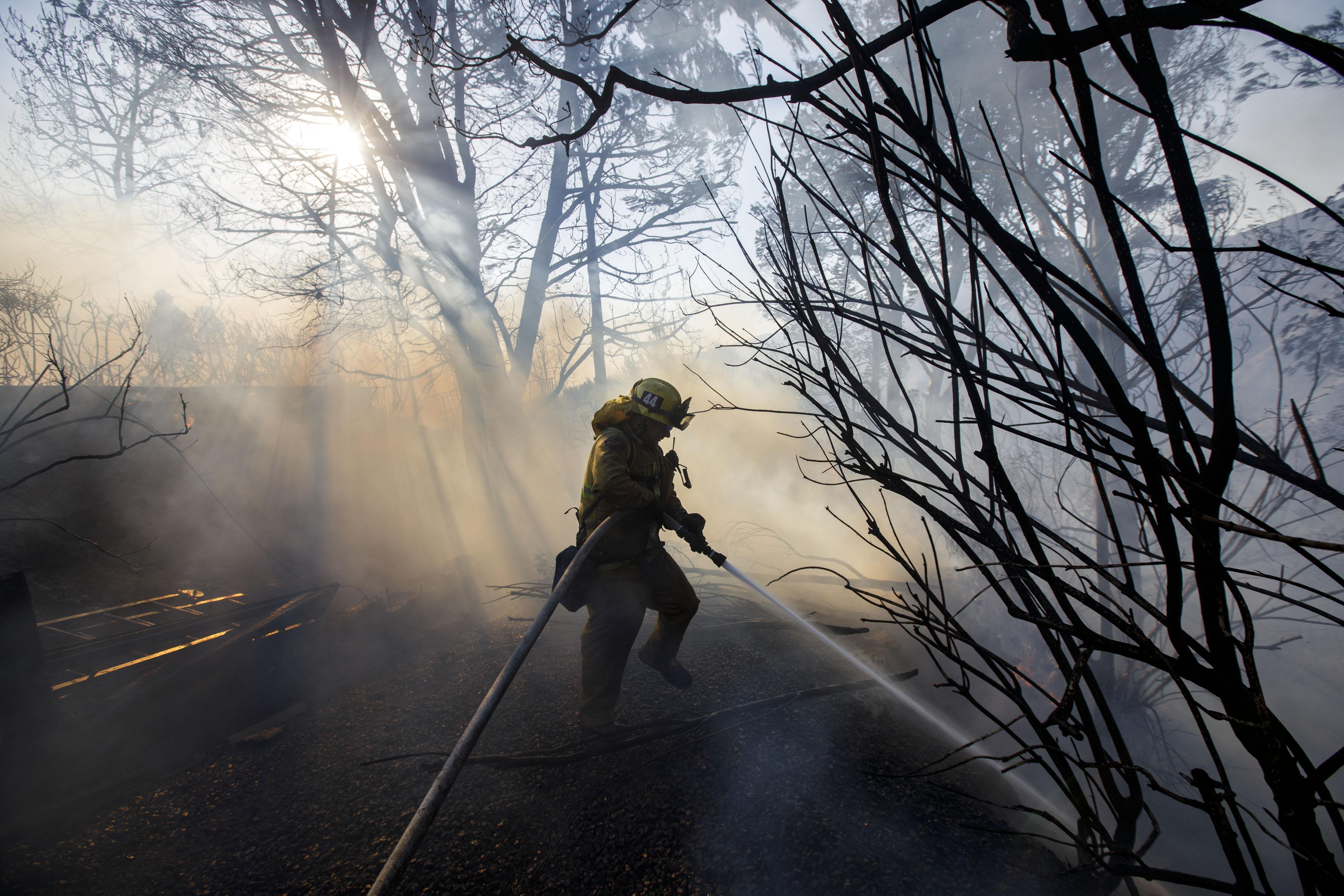 California Firefighters Make It Hard to Break Up With Russia