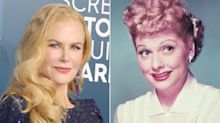 Nicole Kidman Says She's 'Way Out of My Comfort Zone' as Lucille Ball: 'I'm Never Cast Funny'