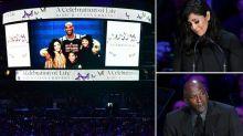 Hommage à Kobe Bryant: Emotion de Vanessa, larmes de Jordan, blague de Shaq… Les cinq moments marquants de la cérémonie
