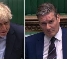 Boris Johnson delivers Calvin Klein pants gag after coming under fire over coronavirus response