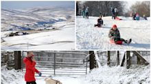 In pictures: Frozen Britain as temperatures plunge to -7C on coldest day of 2020