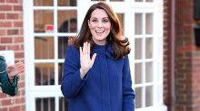 Kate Middleton dodges strange royal childbirth rule