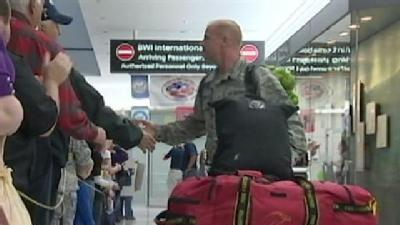 'Welcome Home Maryland' Greets Returning Troops