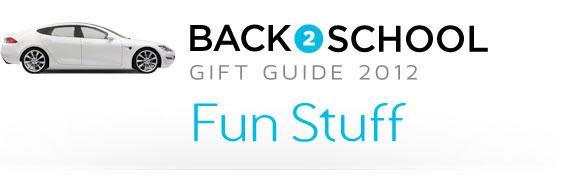 Engadget's back to school guide 2012: fun stuff!