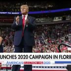 Trump officially launches 2020 reelection campaign at packed Orlando arena