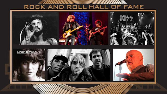 ROCK AND ROLL HALL OF FAME, CLASS OF 2014