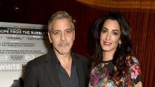 Amal Clooney sparkles in vintage Chanel