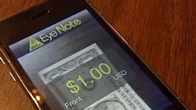 App Helps Blind People Sort Cash