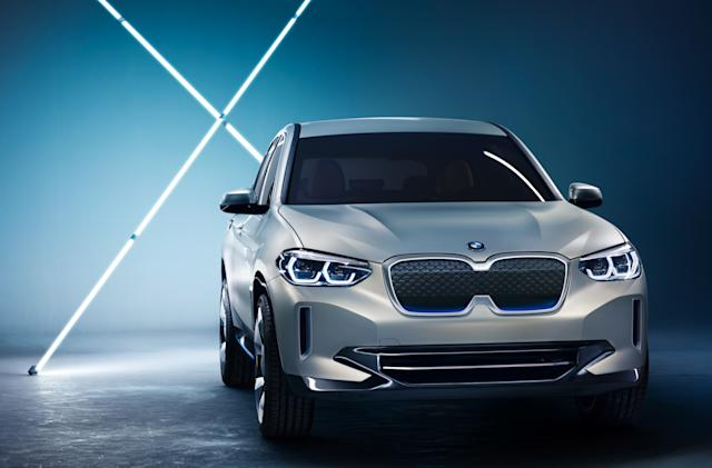 BMW's Concept iX3 dials back the futuristic styling