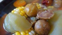 【湯水】清潤香甜!佛手瓜甘筍粟米粟子湯