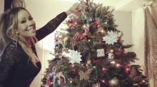 Celebrity Christmas trees 2017