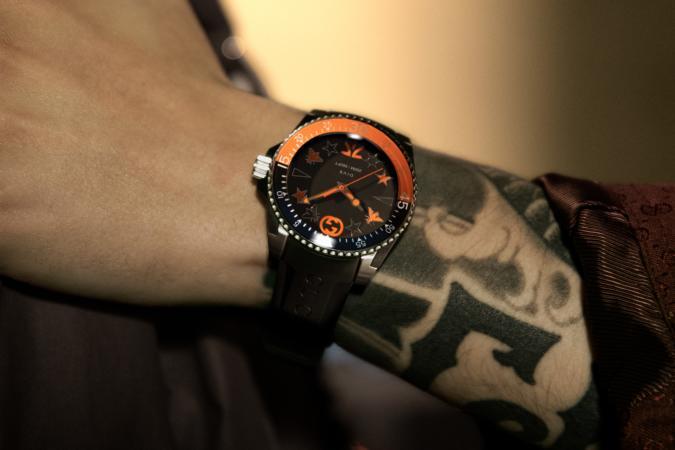 Fnatic x Gucci Limited Edition Gucci Dive Watch