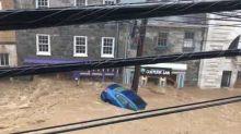 Ellicott City Floods Sweep Away Cars