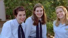 Mandy Moore y Anne Hathaway recuerdan una de las escenas más icónicas de Princesa por sorpresa